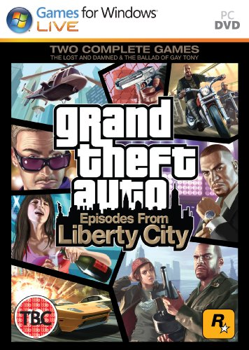 Grand Theft Auto: Episodes from Liberty City (PC DVD) [Importación inglesa]
