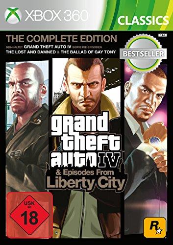 Grand Theft Auto IV Complete Edition Classics - Xbox 360 [Importación alemana]