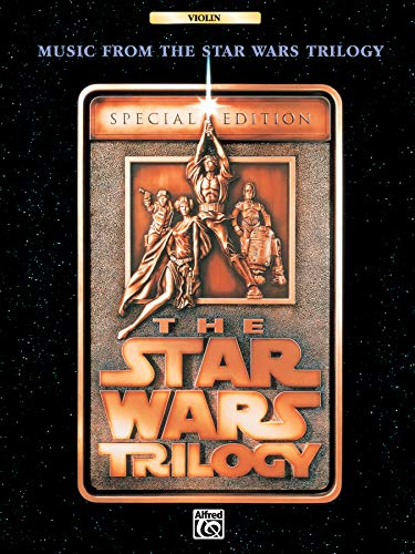 The Star Wars Trilogy : special edition songbook for violin