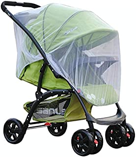 White Infants Baby Stroller Pushchair Mosquito Insect Net Safe Mesh Buggy Crib Netting Cart Mosquito Net Full Cover Netting