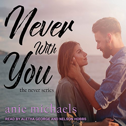 Never with You audiobook cover art