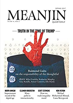 Meanjin Vol 76 No 3 by [Jonathan Green]