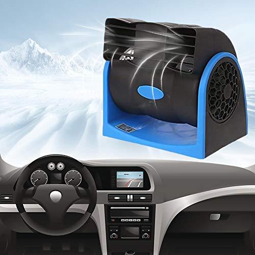 fervory Portátil Coche Ventilador del Aire De Enfriamiento Ventilador del Automóvil Eléctrico Velocidad del Ventilador Ajustable Ventilador