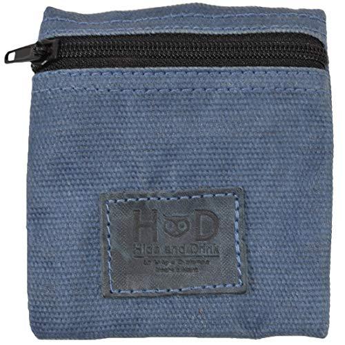 Hide & Drink, Wasserabweisender, gewachster Canvas-Kondombeutel, für Wertsachen und Geldbeutel, klassisches Partner-Geschenk, Reise- und Flitterwochen-Essentials, handgefertigt