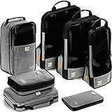 VASCO Unisex-Adult (Luggage only) Packing Cubes Set, Grey, One_Size