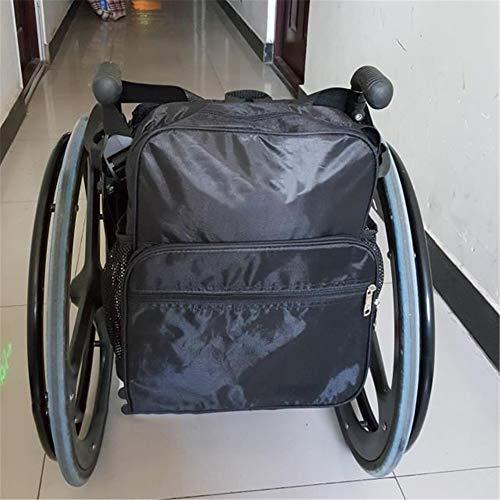 Carryon Carryon, rolstoel rugzak opbergtas, universele reistas voor het dragen van accessoires op rolstoel, rollers