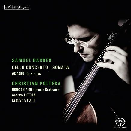 バーバー : チェロ協奏曲 Op.22, チェロソナタ Op.6 他 (Christian Poltera plays Samuel Barber) [SACD Hybrid] [輸入盤]