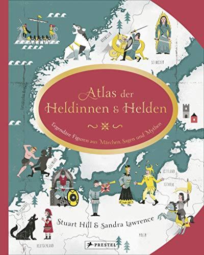 Buchseite und Rezensionen zu 'Atlas der Heldinnen und Helden' von Sandra Lawrence