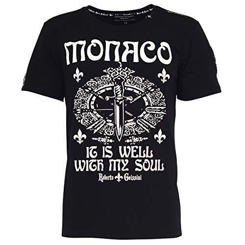 T-Shirt Monaco Black L