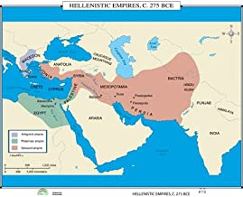 Hellenistic Empires (World History Wall Maps)