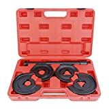 SUNROAD 5pcs Front Rear Coil Spring Compressor Telescopic Repair Tool Kit Clamps Replacement for Mercedes Benz W series