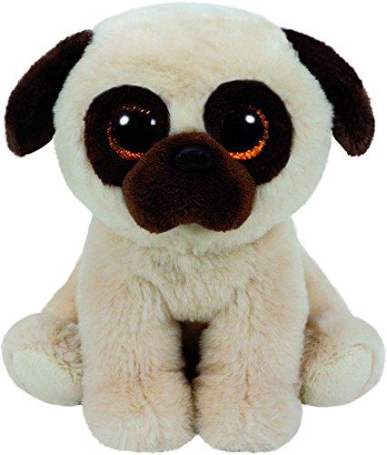 Carletto Ty 90242 Rufus Pug Dog Plüschtier, Mehrfarbig