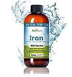 NutriNoche Pure Crystalline Liquid Iron Supplement - 30 ppm - Colloidal Minerals