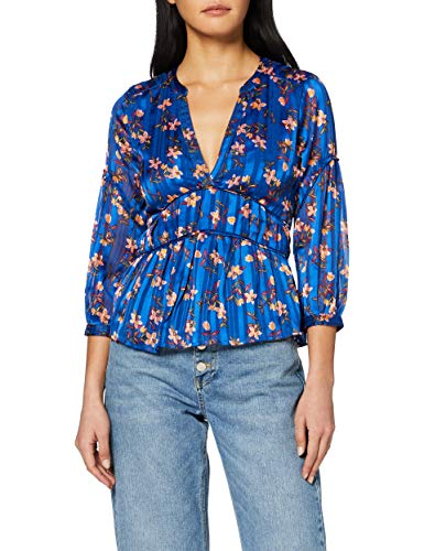 Scotch & Soda dames bloes Printed top with piping details