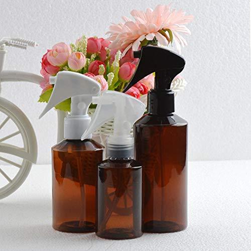 Pulvérisateur à gâchette rechargeable, bouteille de brume fine hydratante brune, utilisé pour le nettoyage des fleurs et du jardin, buse aléatoire, pack de 5-100 ml