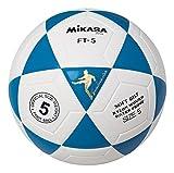 Mikasa FT5 - Balón de fútbol (tamaño 5), Color Azul / Blanco, tamaño 5