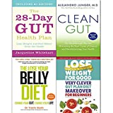 Very clever gut, 28-day gut health plan, clean gut and lose your belly diet 4 books collection set