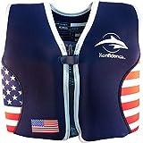 Konfidence The Original Children's Swim Jacket (USA Flag, 6-7 Years)