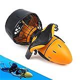 BESTSUGER Scooter sous-Marin, Professionnel Scooter sous-Marin avec Vitesse de 6 km/h et Batterie de 60 Min, électrique Scooter pour la Plongée Snorkeling Sea Adventures