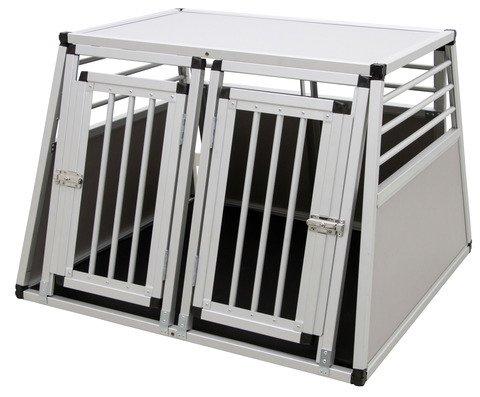 Kerbl 80587 Alu-Transportbox Barry zweitürig