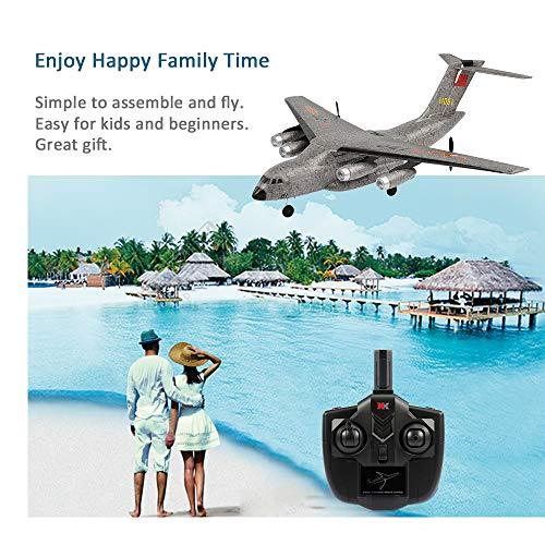Goolsky XK A130 RC ferngesteuertes Flugzeug, geeignet für Anfänger und Profis, Komplett-Set inkl. Fernsteuerung und Zubehör