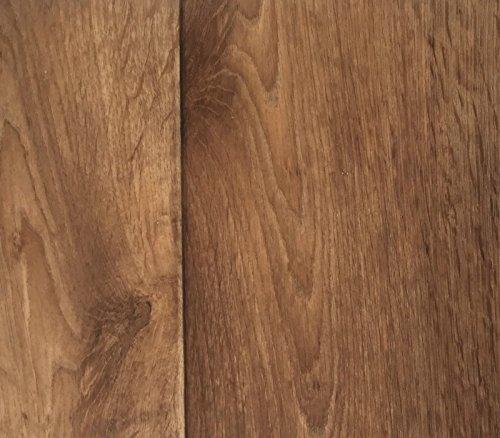 PVC Vinyl-Bodenbelag in Holz Optik Birne | CV PVC-Belag verfügbar in der Breite 300 cm & Länge 600 cm | CV-Boden wird in benötigter Größe als Meterware geliefert & trittschalldämmend