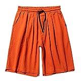 VPASS Pantalones Hombre Verano Moda Pantalones Corto Tallas...