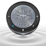 Maxhub Altavoz Micrófono Videoconferencia Bluetooth con USB, Speaker Bluetooth de Reducción de Ruido, Sonido Envolvente de 360 °,Compatible con PC, Smartphones y Portatíles