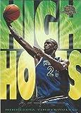 1995-96 Fleer Skybox - Kevin Garnett - HIGH HOPES Parallel - Minnesota Timberwolves Rookie NBA Basketball Card RC #5. rookie card picture