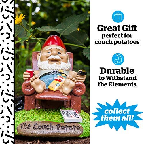 Couch-Potato Gartenzwerg - 2