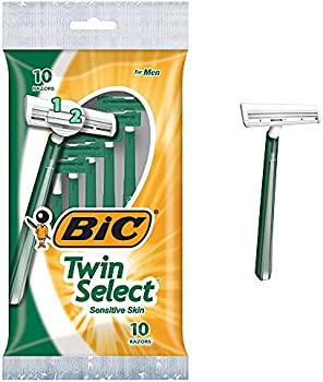 120-Count BIC Twin Select Men's Twin Blade Disposable Shaving Razors