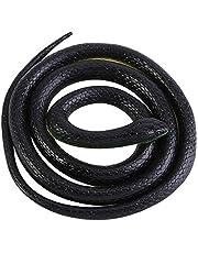 Rubberslang Fake Snakes Realistische rubberen slangen 130 cm groot levensecht realistisch nep-rubberen slangenspeelgoed voor volwassenen en kinderen