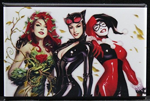 51kmOcB0ZSL Harley Quinn Magnets