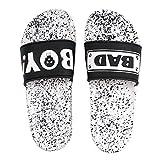DES TONGS Men's Flip Flop (Black & White 7 UK)