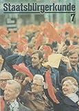 Staatsbürgerkunde Klasse 7 Lehrbuch DDR Einführung in die sozialistische Produktion