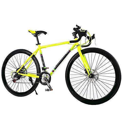 ZLDAN Men and Women of high-Carbon Steel Mountain Bike Bicycle disc Brakes (Color : Yellow)