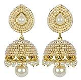 Royal Bling Traditional Indian Jewelry Meenakari Jhumki/Jhumka Earrings for Women