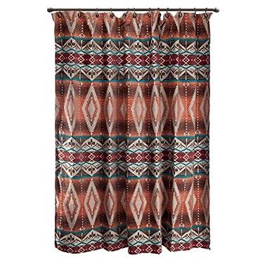 Black Forest Decor Sonoran Sky Rustic Shower Curtain - Wilderness Bath Accessories