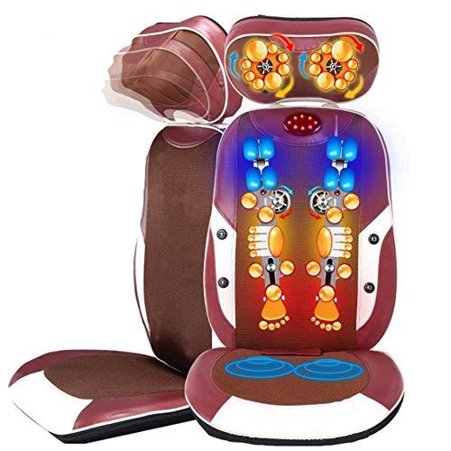 XSSD001 Shiatsu-massage-apparaat, massagestoel, massage-apparaat, multifunctioneel, massage-apparaat, thuis, massage, taille, kussen, achter, massagestoel