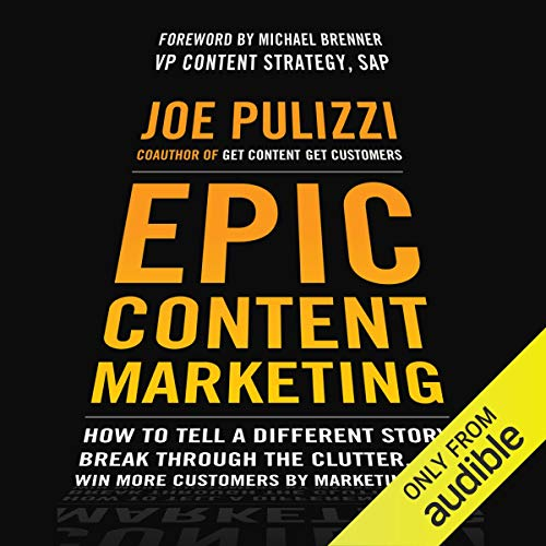 Epic Content Marketing audiobook cover art