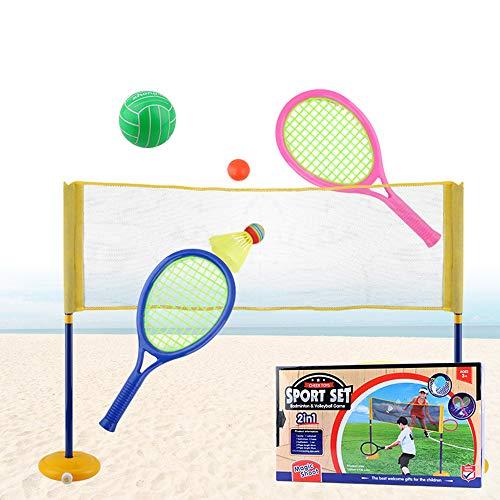 YYDM 1 Komplett-Set Von Kindertennisschläger, Strand Außen Spielzeug Rackets/Leichter Durable Tennisschläger, Geeignet Für Eltern-Kind-Beach Games, Family Entertainment