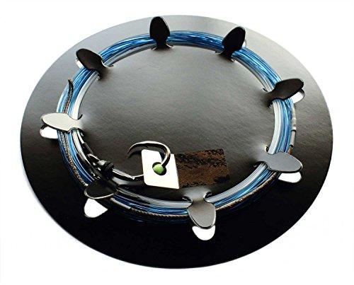大洋ベンダーズ (TAIYO VENDORS) 最強クロマグロSC仕掛 ハリス35号 針22号 全長9m ブルー ブルー 全長9m