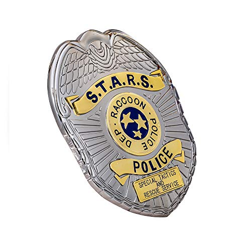 Resident Evil 2 Remake Leon Cosplay S.T.A.R.S. RPD Pin Badge Limited Edition Collector's Game Anime Steel