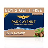 Premium Fragrant Soap Grade I Soap Pamper yourself with ultimate moisturizing soap with power of 3 moisturizers - Glycerine, coconut oil and shea butter Strong woody fragrance with great bloom and retention on skin. Ideal For Men Cleansing without dr...