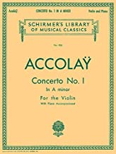 Concerto No. 1 in A Minor: Schirmer Library of Classics Volume 905 Violin with Piano Accompa (Schirmer's Library of Musical Classics)