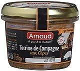 arnaud terrine de campagne aux cèpes 180 g - pack de 12
