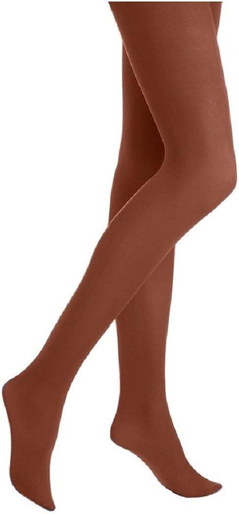 Hue Womens Shimmer 60 Denier Control-Top Pantyhose Brown 3
