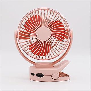 massager Ventilador portátil del Ventilador de Clip 3600mAh Batería USB Recargable Silent Silent Desktop Fan con Gancho de...