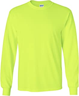 Best gildan safety green long sleeve Reviews