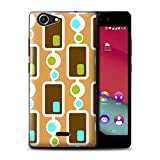 Stuff4 Phone Case for Wiko Pulp Fab 4G Decade Pattern